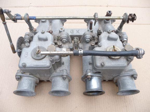 Weber dcoe42 and GX manifold