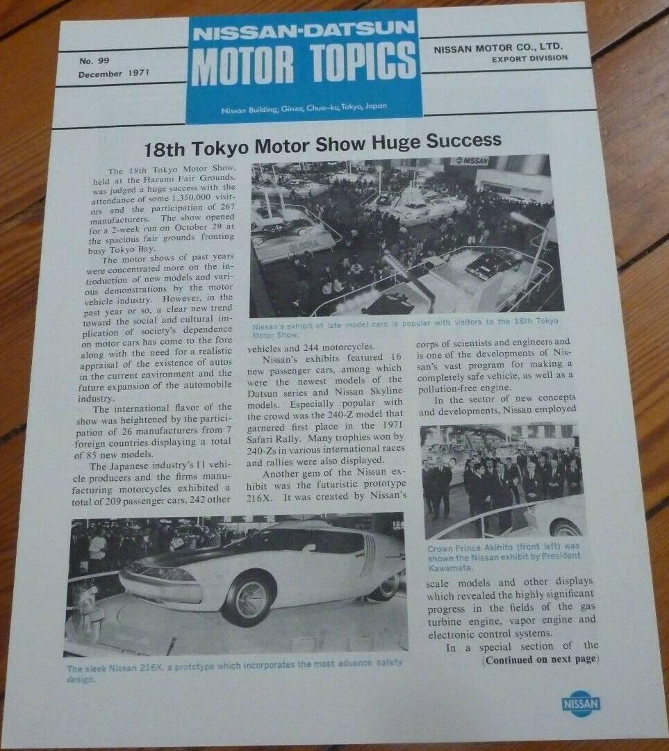 Motor Topics No. 99