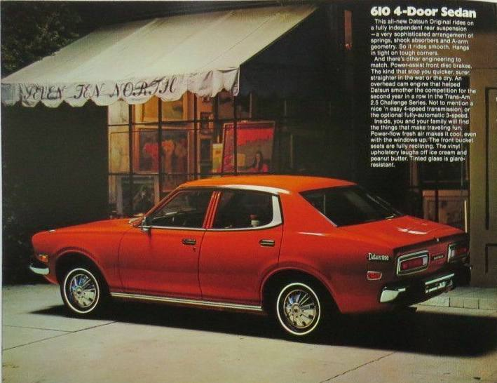 A Gallery of Datsun Originals - 610 4-Door Sedan