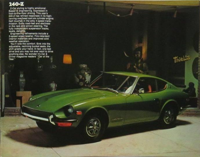 A Gallery of Datsun Originals - 240-Z