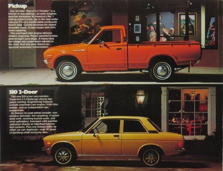 A Gallery of Datsun Originals - Pickup & 510 2-Door