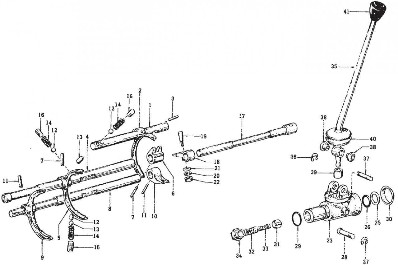 F5C56 shift parts