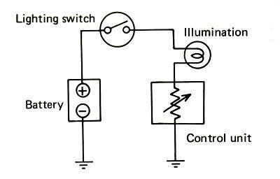 rheostat wiring