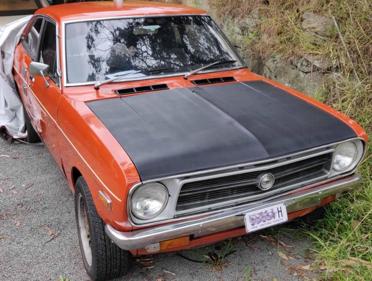 Datsun 1200 Coupe '73 various modifications