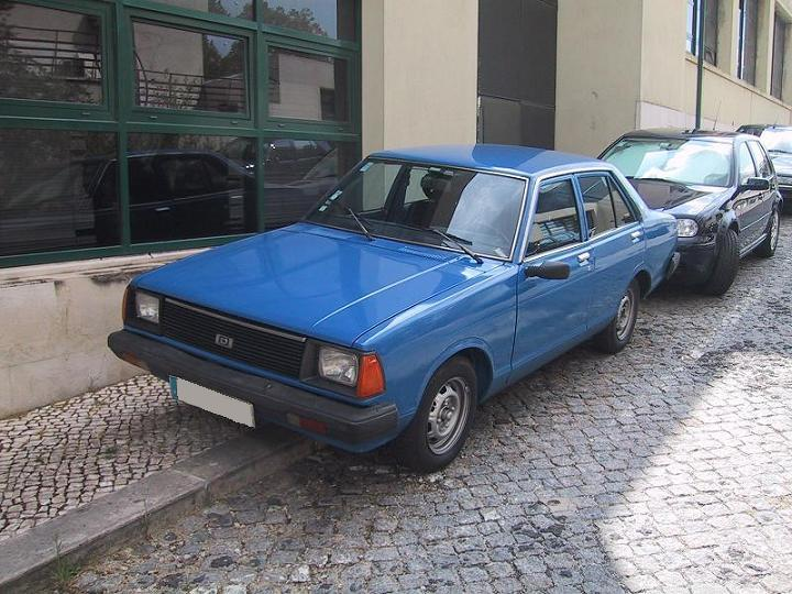 Datsun Sunny B310 new blue