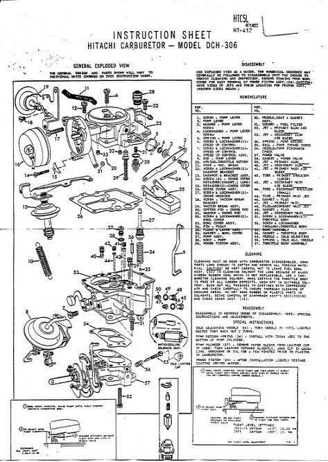 tech wiki carburetor repair datsun 1200 club rh wiki datsun1200 com