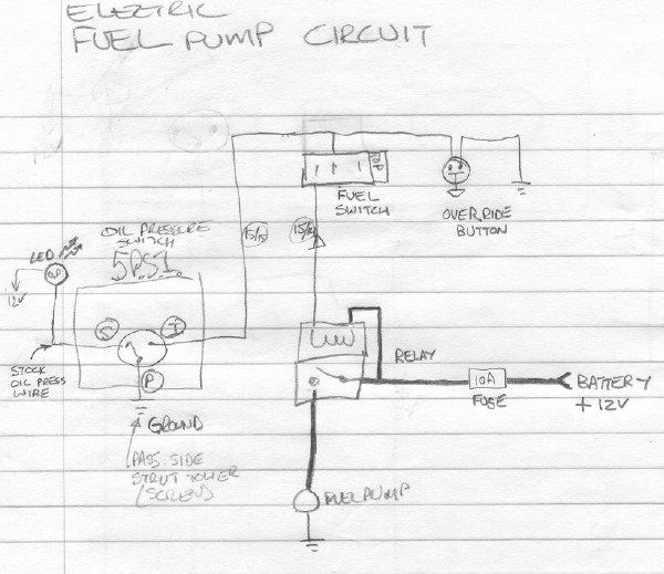 tech wiki  electric fuel pump  datsun 1200 club