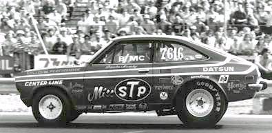 "The ""Miss STP"" Datsun 1200 NHRA Racer"