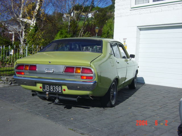 Datsun 120y with diff tail lights