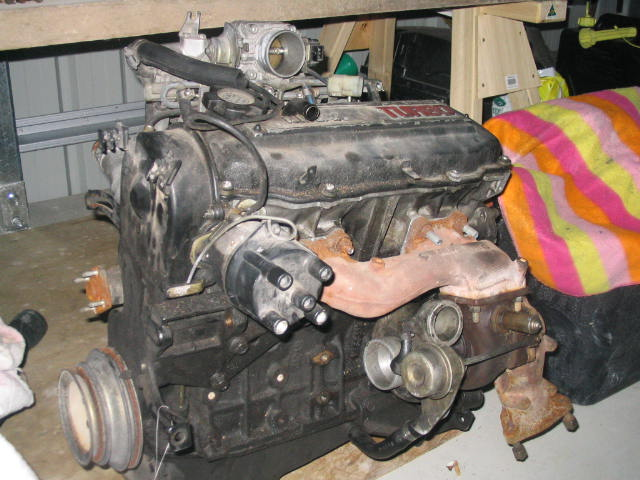 CA18ET  Turbo
