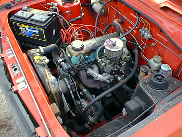 Datsun A12 engine