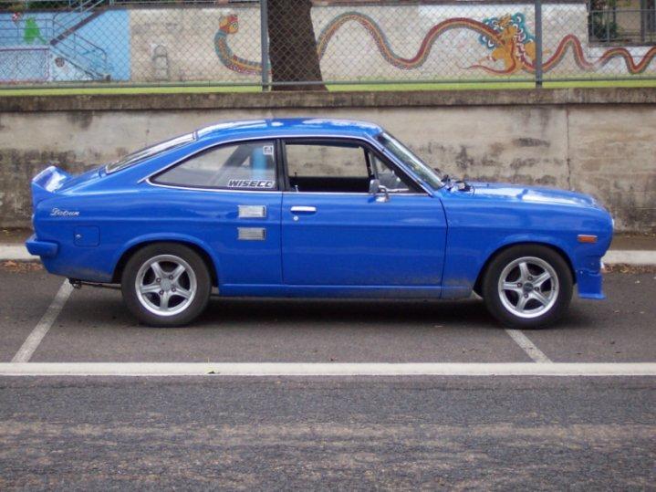 Datsun bluebird coupe