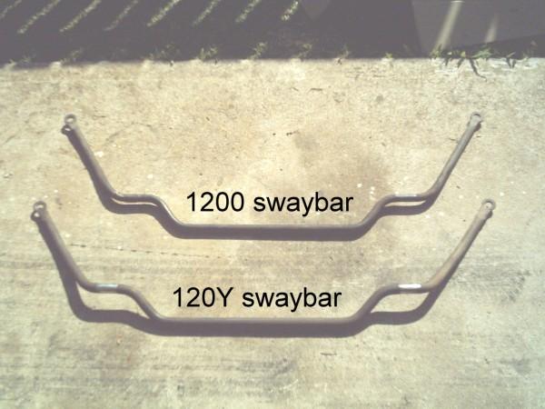 Tech Wiki - B210 Sway Bar Upgrade : Datsun 1200 Club