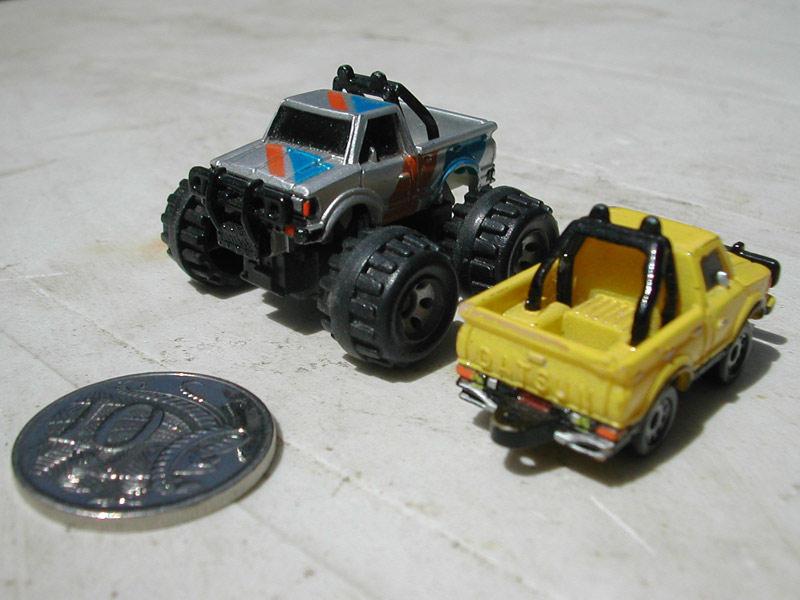 Datsun ute Micro Machines 1