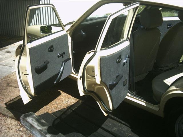 Stereo Door Panels