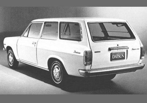 1972 Datsun 1200 2-dr Wagon (aka 3-dr)