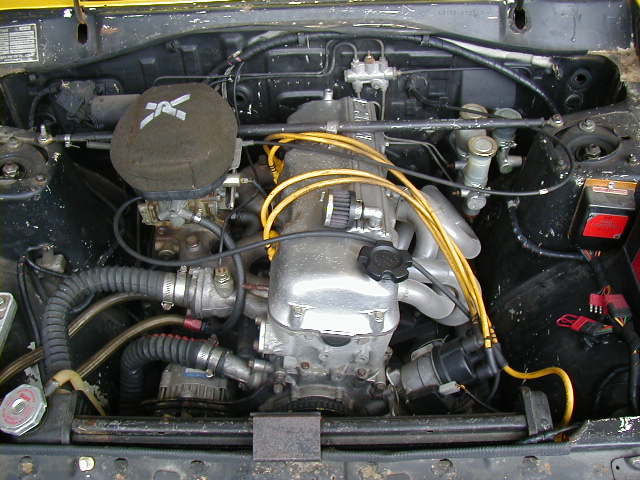 Chickenhawk&#039;s engine