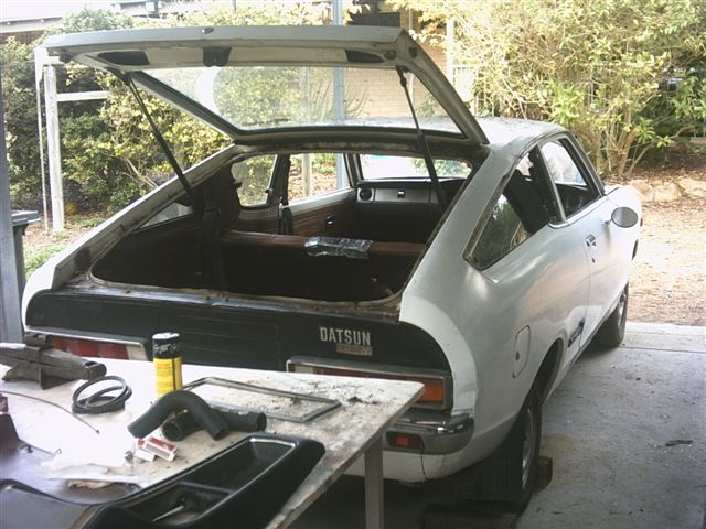 New 120Y Coupe Project