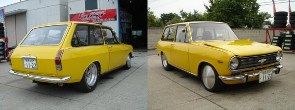 b10 yellow chevy 1a