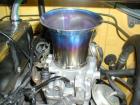 Single funnel made of titanium