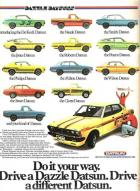 DAZZLE DATSUNS