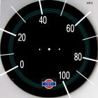 Speedometer for low gearing