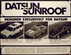 Aftermarket Sunroof Ad