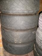 Tyres on Corona alloys