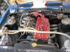 blue race coupe motor