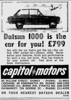 Datsun 1000 is the car for you!