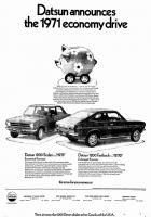 Datsun Announces the 1971 Economy Drive