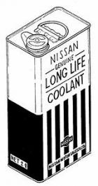 Nissan Genuine Long Life Coolant