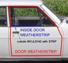 Door Weatherstrip Rubbers