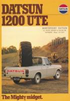 "1200 ute ad ""The Mighty Midget"""