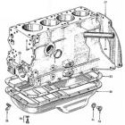 """P"" B110 L-series Engine Sump"