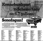 Kennebunkport to Schenectady on 6.7 gallons