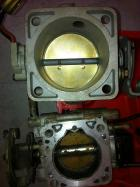 XF ford VS stock CA18 throttle body