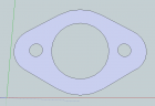 A12 Exhaust flange