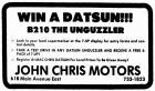 Win a Datsun!