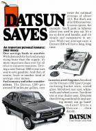 Datsun saves twice the national average