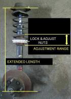 coil spring adjustment