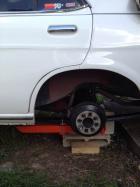 Custom built traction bars