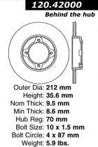 Brake Rotor (B110)