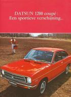 DATSUN 1200 coupé: Een sportieve verschijning...