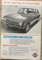 Datsun range UK