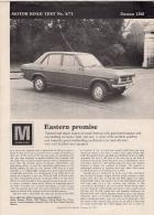 MOTOR ROAD TEST No. 8/71 Datsun 1200
