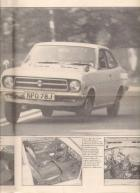 Datsun 1200 coupe road tested