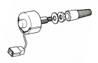 rheostat-type dash light dimmer switch