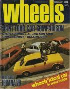 Wheels magazine February 1973