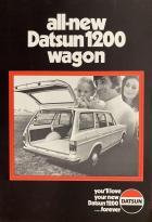 all-new Datsun 1200 wagon